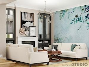 salon- design wnętrz interior - zdjęcie od MIKOŁAJSKAstudio