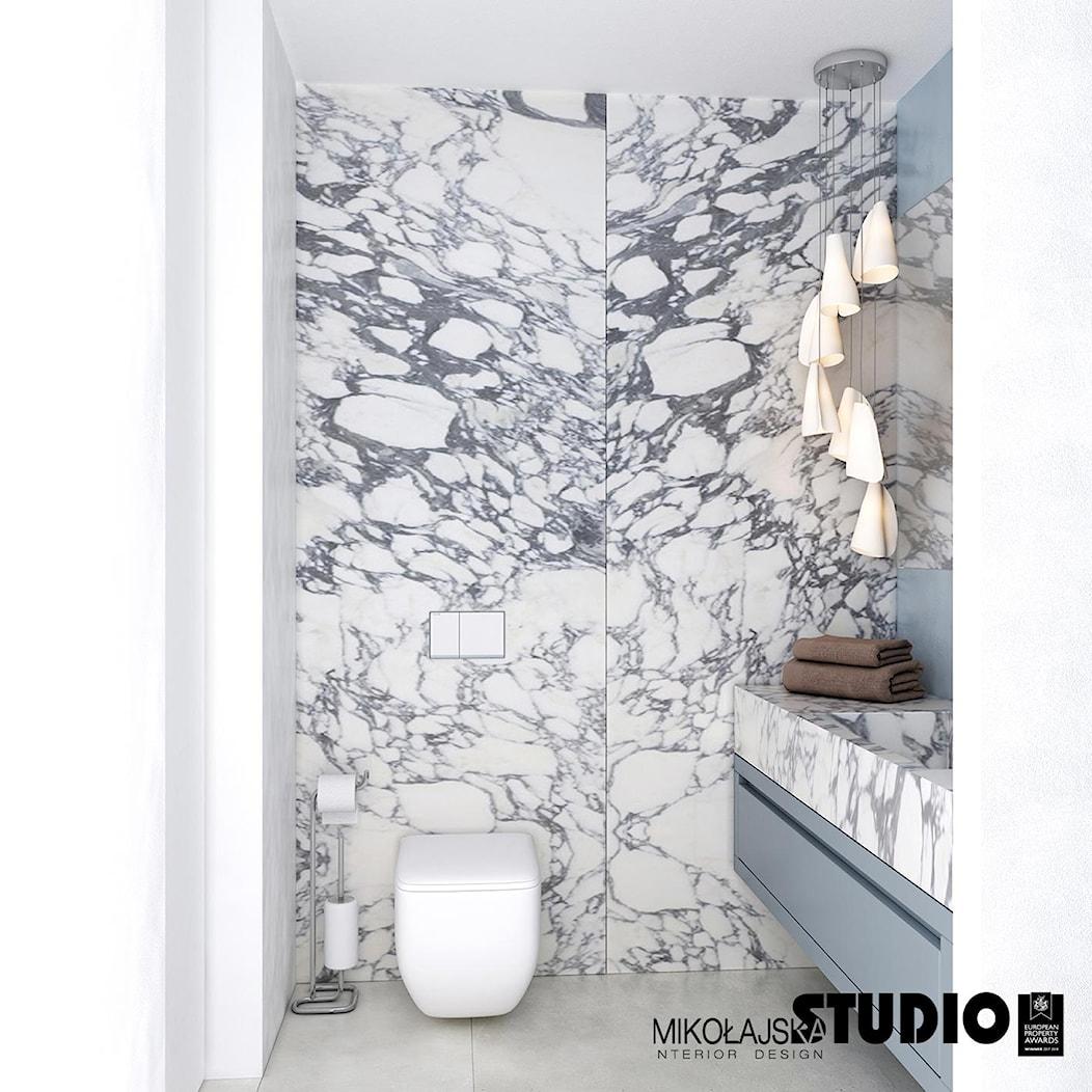 łazienka w marmurach - zdjęcie od MIKOŁAJSKAstudio - Homebook