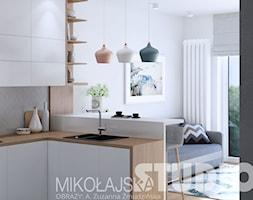 mieszkanie w stylu skandynawskim - zdjęcie od MIKOŁAJSKAstudio - Homebook