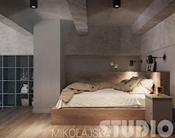 loft-sypialnia+-+zdj%C4%99cie+od+MIKO%C5%81AJSKAstudio