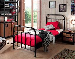 Metalowe łóżko New York NYBE9018 dla dziecka - zdjęcie od epinokio.pl