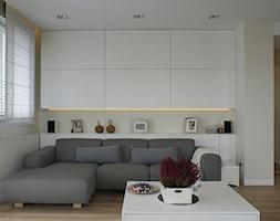130m2 - żoliborz - Salon, styl skandynawski - zdjęcie od t design - Homebook