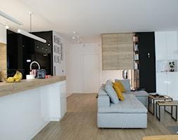 Bemowo 130m2 - Salon, styl nowoczesny - zdjęcie od t design - Homebook