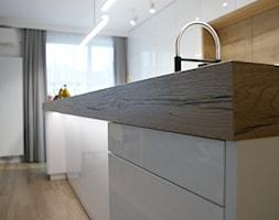 Bemowo 130m2 - Kuchnia, styl skandynawski - zdjęcie od t design - Homebook