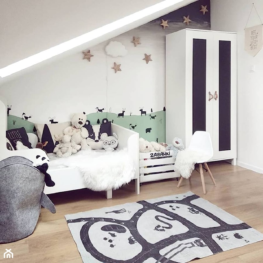 faa44748 Zimowe aranżacje - Pokój dziecka, styl skandynawski - zdjęcie od O ...
