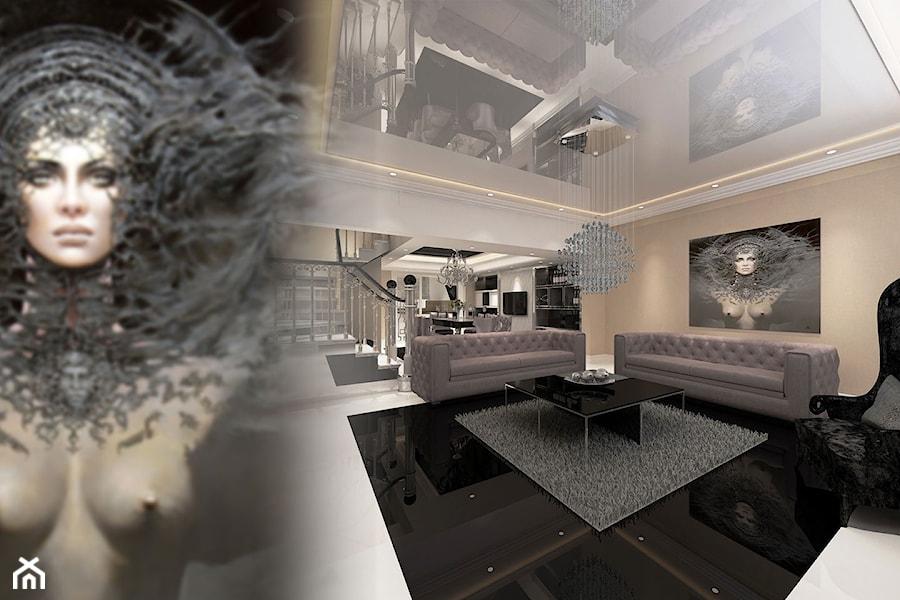 salon art deco zdj cie od art view design homebook. Black Bedroom Furniture Sets. Home Design Ideas