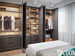 Minimalistyczne mieszkanie - Średnia sypialnia małżeńska, styl minimalistyczny - zdjęcie od Dom-Art