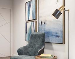 Eko-Dom w Świątnikach Górnych - Biała sypialnia, styl nowoczesny - zdjęcie od Dom-Art - Homebook