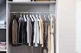 jak urządzić garderobę