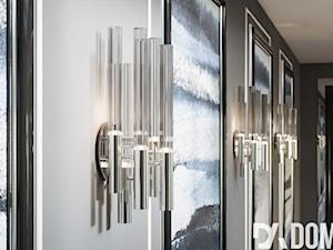 Apartament Art-Deco w Warszawie - Szary hol / przedpokój, styl art deco - zdjęcie od Dom-Art