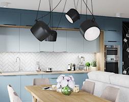 Skandynawskie mieszkanie w Krakowie - Średnia otwarta kuchnia jednorzędowa, styl skandynawski - zdjęcie od Dom-Art - Homebook