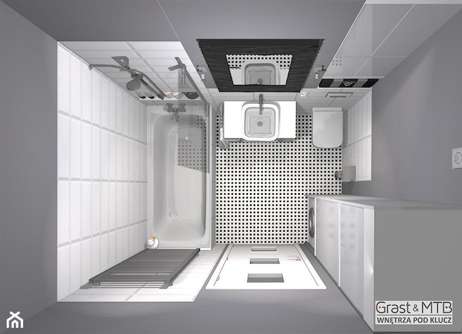 It's_not_simple_projekt_łazienki_7 - zdjęcie od Kompleksowe realizacje wnętrz pod klucz