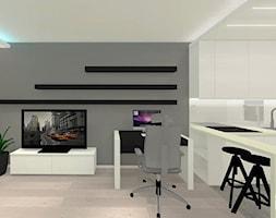 Salon_z_aneksem_mieszkanie_42m2_6 - zdjęcie od Grast&MTB