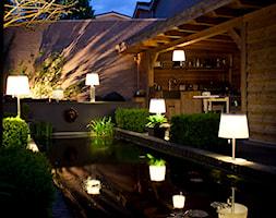Nowoczesne oświetlenie ogrodowe - zdjęcie od www.solarlighting.pl