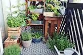 Balkon z nutą vintage. - zdjęcie od Ilona Jankiewicz-Próchenko / Przeplatane kolorami - Homebook