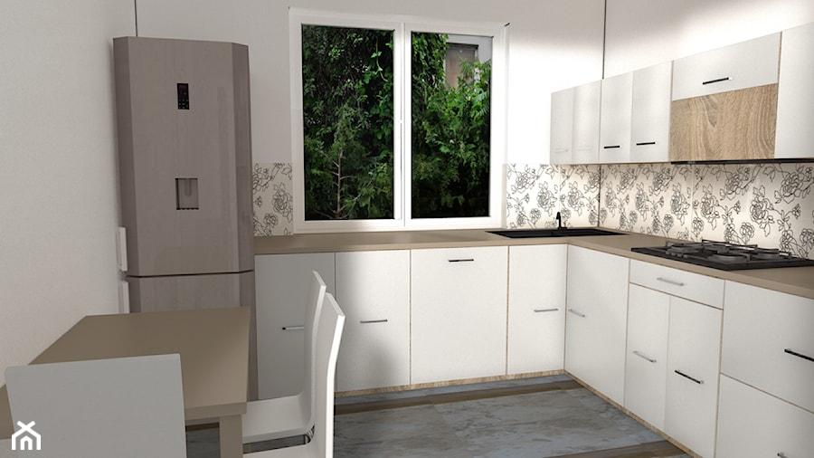 Kuchnia  projekt 3d  zdjęcie od Lenoik