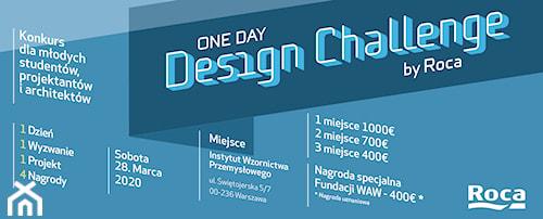 """III edycja konkursu designu """"Roca One Day Design Challenge"""""""