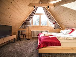 Smrekowa Chata (Tatra Dream Zakopane) - Sypialnia, styl skandynawski - zdjęcie od Homebook.pl