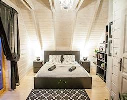 Almette - konkurs - Średnia sypialnia małżeńska na poddaszu, styl nowoczesny - zdjęcie od Homebook.pl