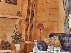 Osada Maruszyna – domek góralski - Mały salon, styl tradycyjny - zdjęcie od Homebook.pl