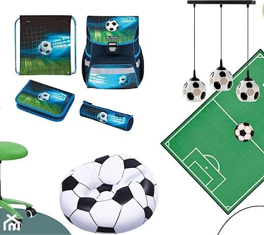 Pokój piłkarski dla chłopca – 6 niezbędnych rzeczy do pokoju kibica piłki nożnej