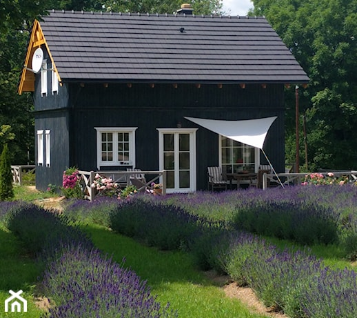 Niebieski dom w Karkonoszach. Odpocznij wśród gór i lawendy