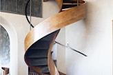 fantazyjne kręcone schody