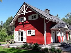 Skandynawski domek Jezioro i Las