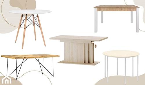 Jaki stół wybrać do małego salonu: okrągły, prostokątny czy rozkładany?