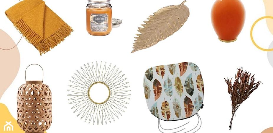 Jesienne dekoracje – jak ozdobić wnętrze jesienią?