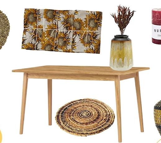 Jesienne dekoracje stołu – 5 modnych ozdób jesiennych na stół!