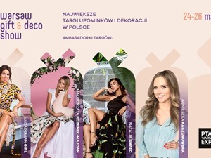 Targi WARSAW GIFT & DECO SHOW z Patronatem Homebook.pl