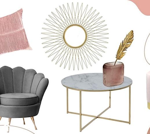 44 dodatki w stylu glamour – stwórz wnętrze w duchu soft glam!