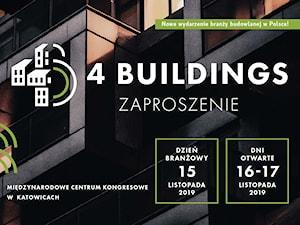 Debata o przyszłości budownictwa – konferencja 4Buildings 15-17 listopada 2019
