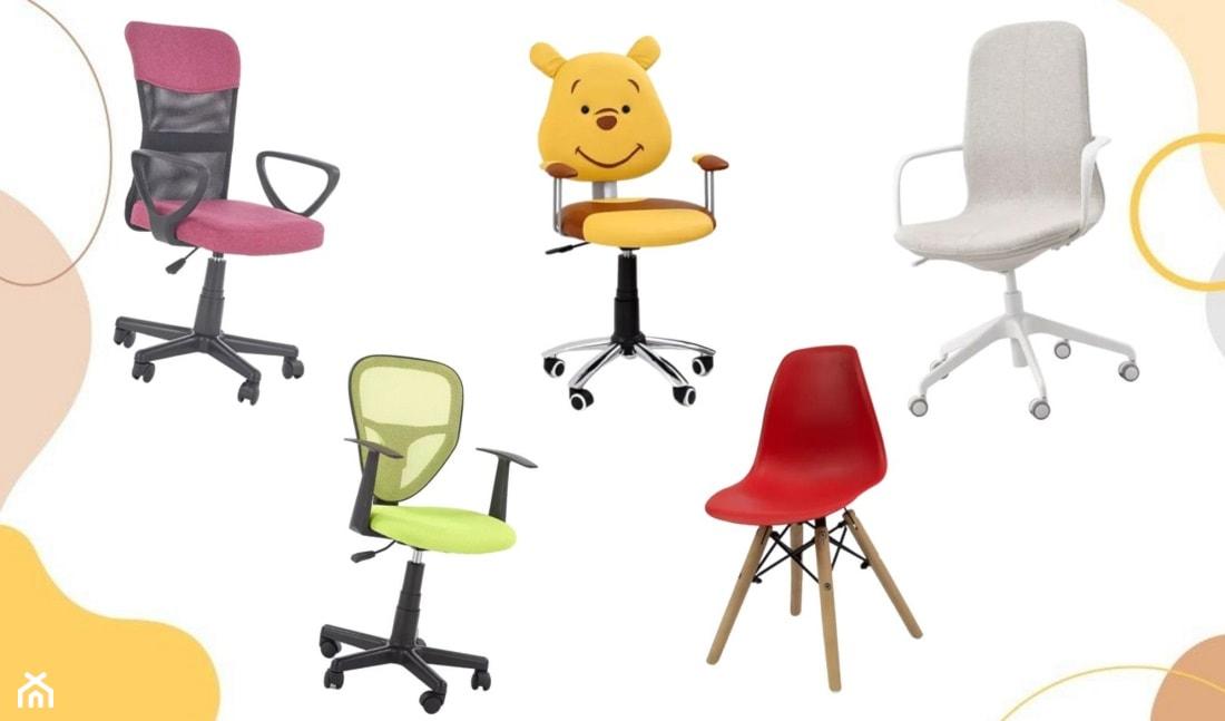 jaki fotel obrotowy dla dziecka