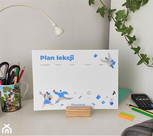 Plan lekcji do druku – zacznij rok szkolny 2020/2021 z Homebook.pl!