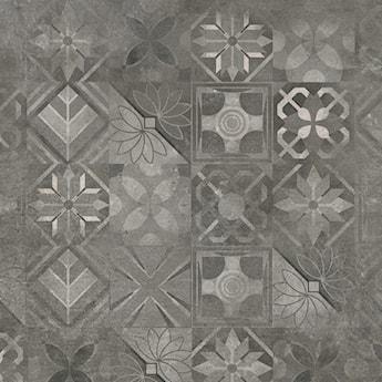 Softcement graphite patchwork 60 x 60