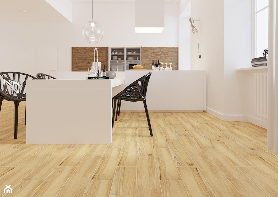 gres jak drewno, płytki podłogowe do kuchni i łazienki