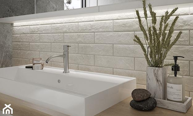 łazienka minimalistyczna, płytki do łazienki, jakie płytki do łazienki
