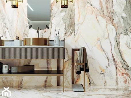 Aranżacje wnętrz - Łazienka: Kolekcja Calacatta Gold - Łazienka, styl eklektyczny - Cerrad. Przeglądaj, dodawaj i zapisuj najlepsze zdjęcia, pomysły i inspiracje designerskie. W bazie mamy już prawie milion fotografii!
