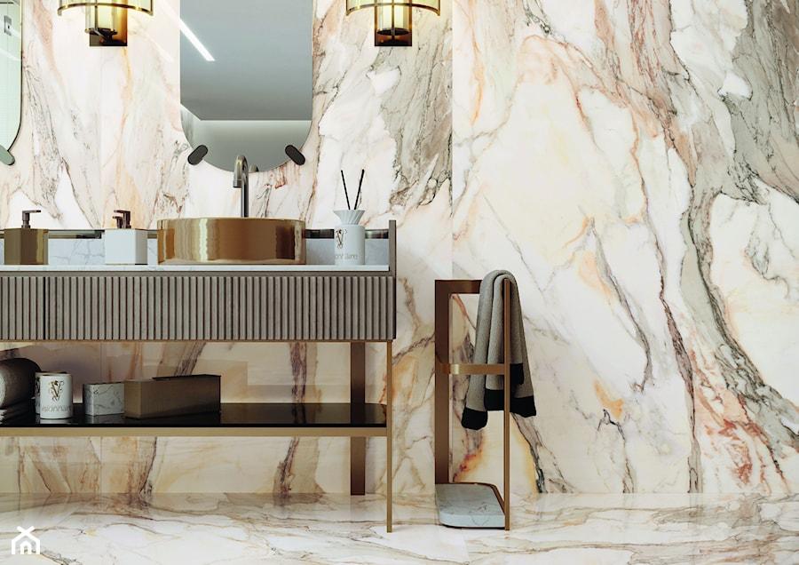 Kolekcja Calacatta Gold - Łazienka, styl eklektyczny - zdjęcie od Cerrad