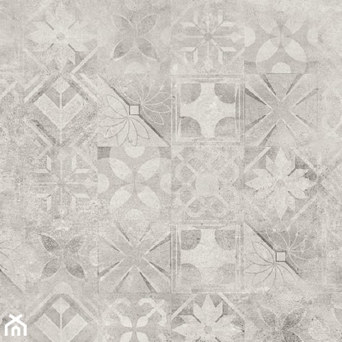 Softcement white patchwork 60 x 60