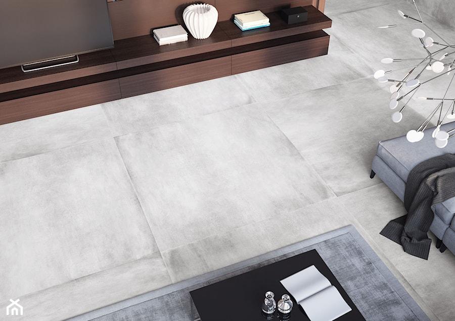 Kolekcja Concrete - Mały szary salon - zdjęcie od Cerrad
