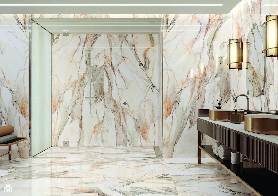 płytki imitujące marmur w łazience