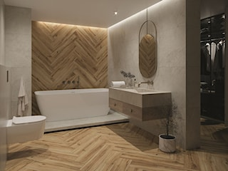 Jak wykorzystać płytki drewnopodobne we wnętrzach? 4 inspirujące pomysły