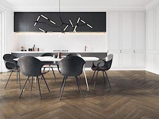 Podłoga w kuchni – praktyczny i trwały gres imitujący drewno!