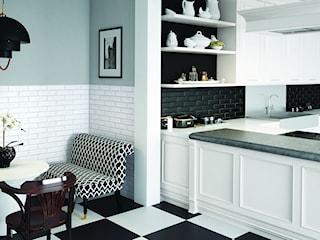 Biała, czarna, a może szara kuchnia? Co wybrać na ścianę w kuchni?