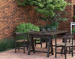 Retro Brick - Średni ogród za domem - zdjęcie od Cerrad