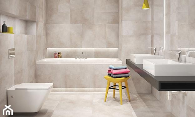 kremowe płytki do łazienki i kuchni