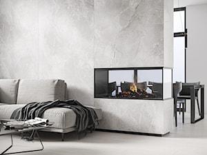Szary marmur zamiast betonu – zobacz, jak użyć go we wnętrzach